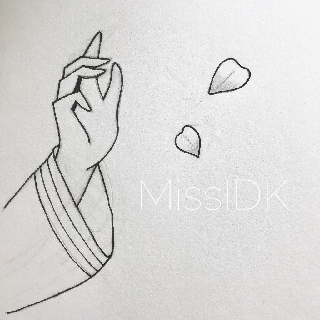 💙TAP HERE FOR ART STUFF💙 This the first time I've ever drawn a hand! 😲 Thankfully it turned out okay 😅//💙MissIDK