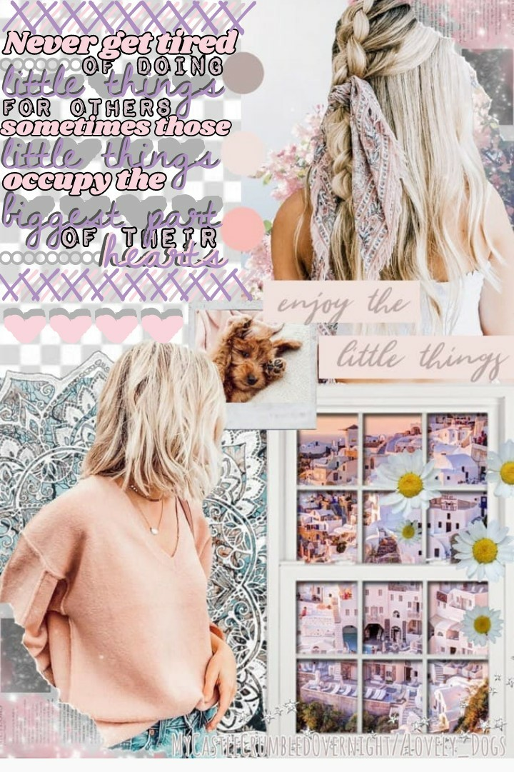 🍥t a p  f o r  c o l l a b  w i t h ...🍥 Katie(mycastlecrumbledovernight)! She did the AMAZING bg and I did the text! ❤You need to go follow her rn! Her collages are GORGEOUS!❤