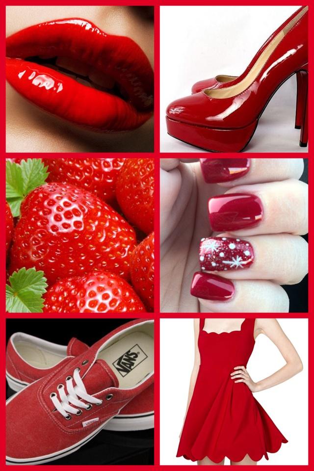 Red fashion