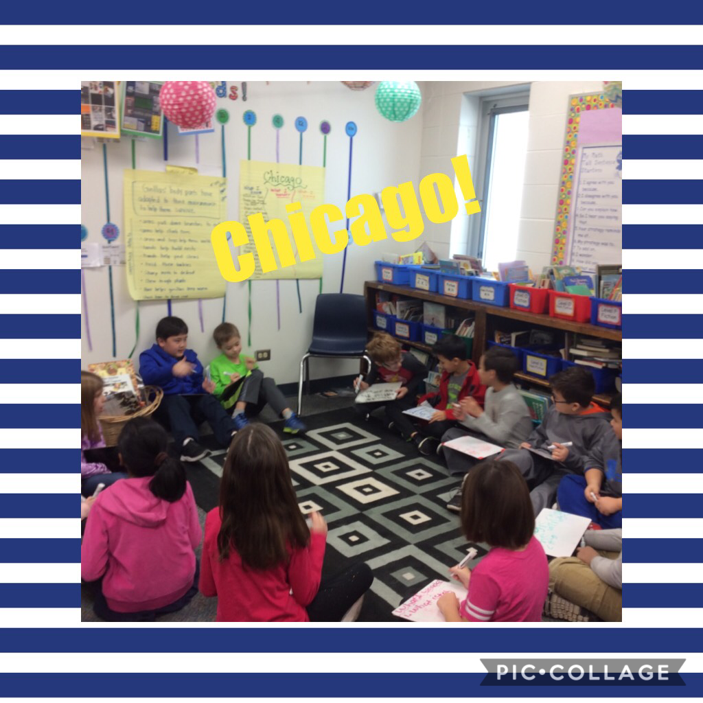 Wondering about Chicago! #d30learns #wbplays