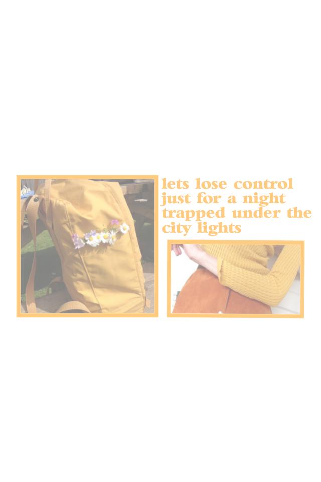 the last orange edit I promise 😂