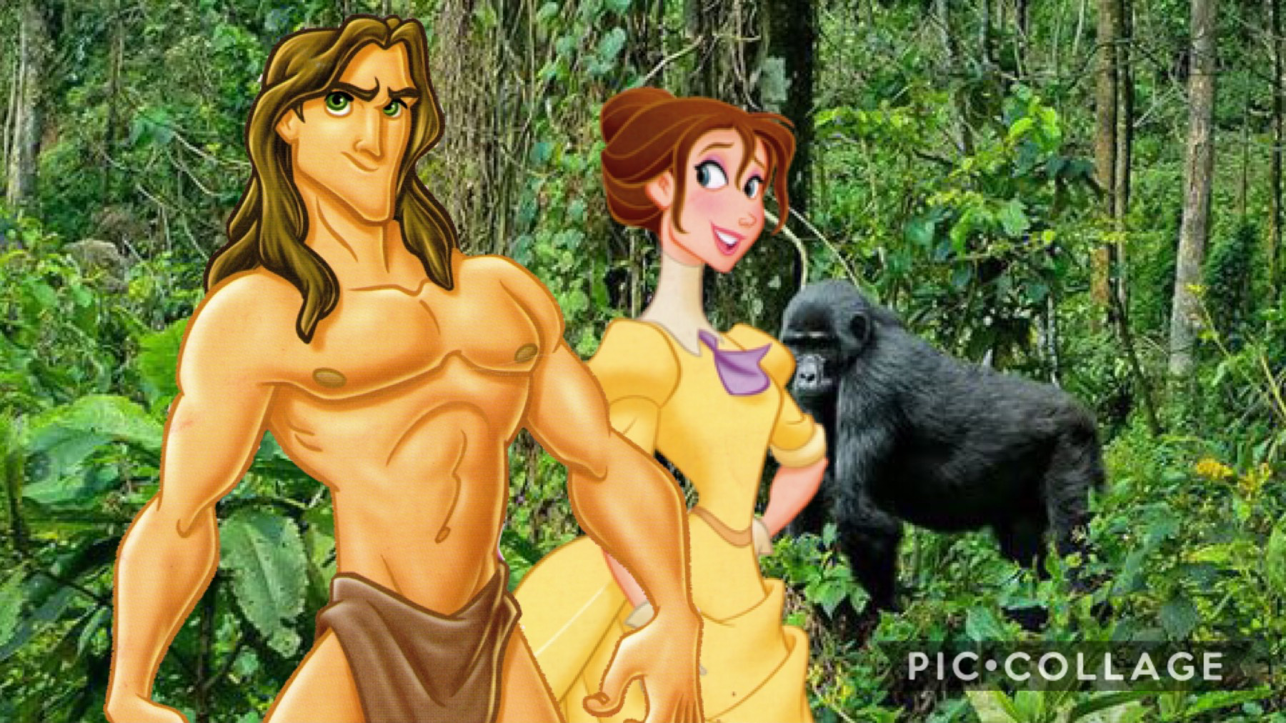 Disney Tarzan fan pic