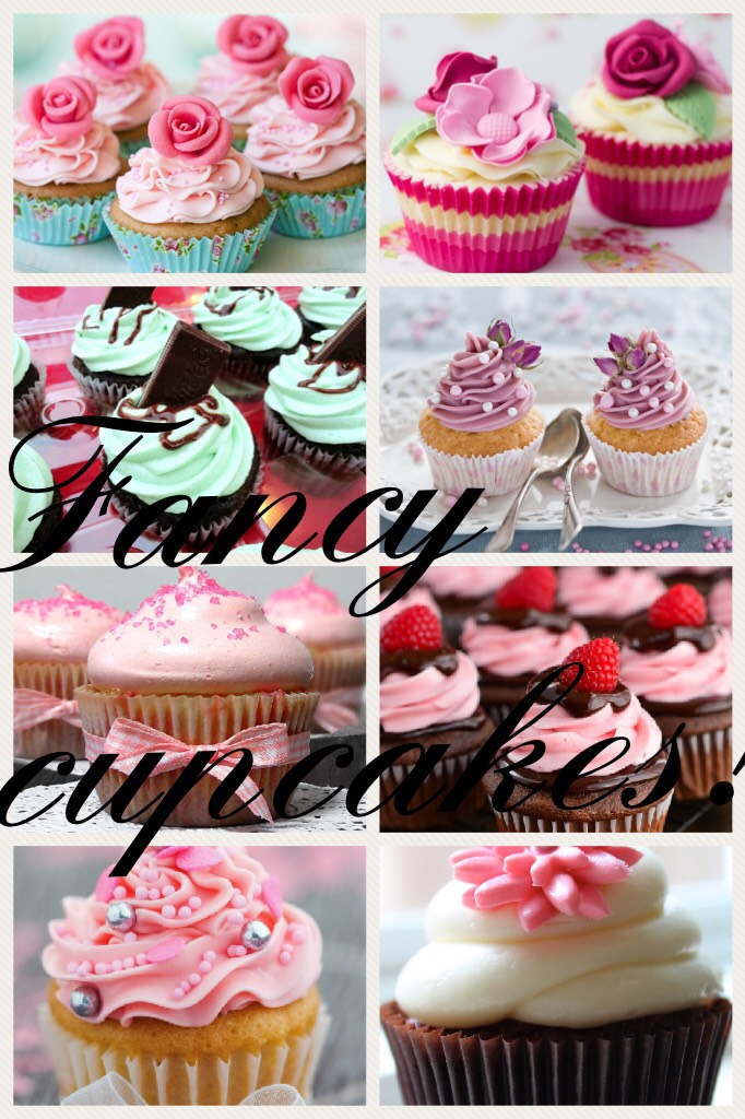 Fancy cupcakes!!!