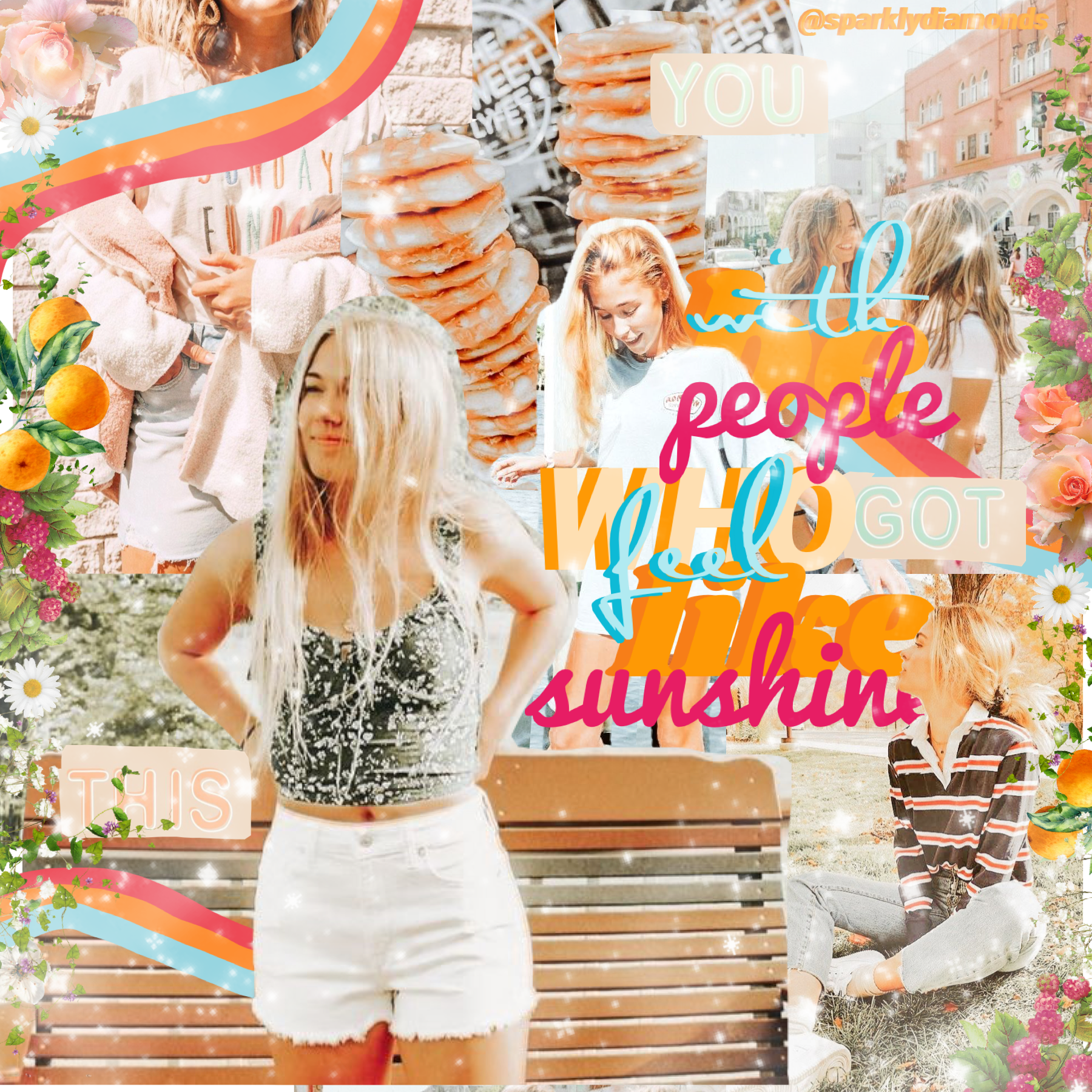 hello ^ this collage is totally just weird :) [𝕥𝕒𝕡] I really like the pic of the girl there :) but I didn't know how to add her to a good collage😢I wanted to make a better one than this tho :// so how is everyone? Stay safe!