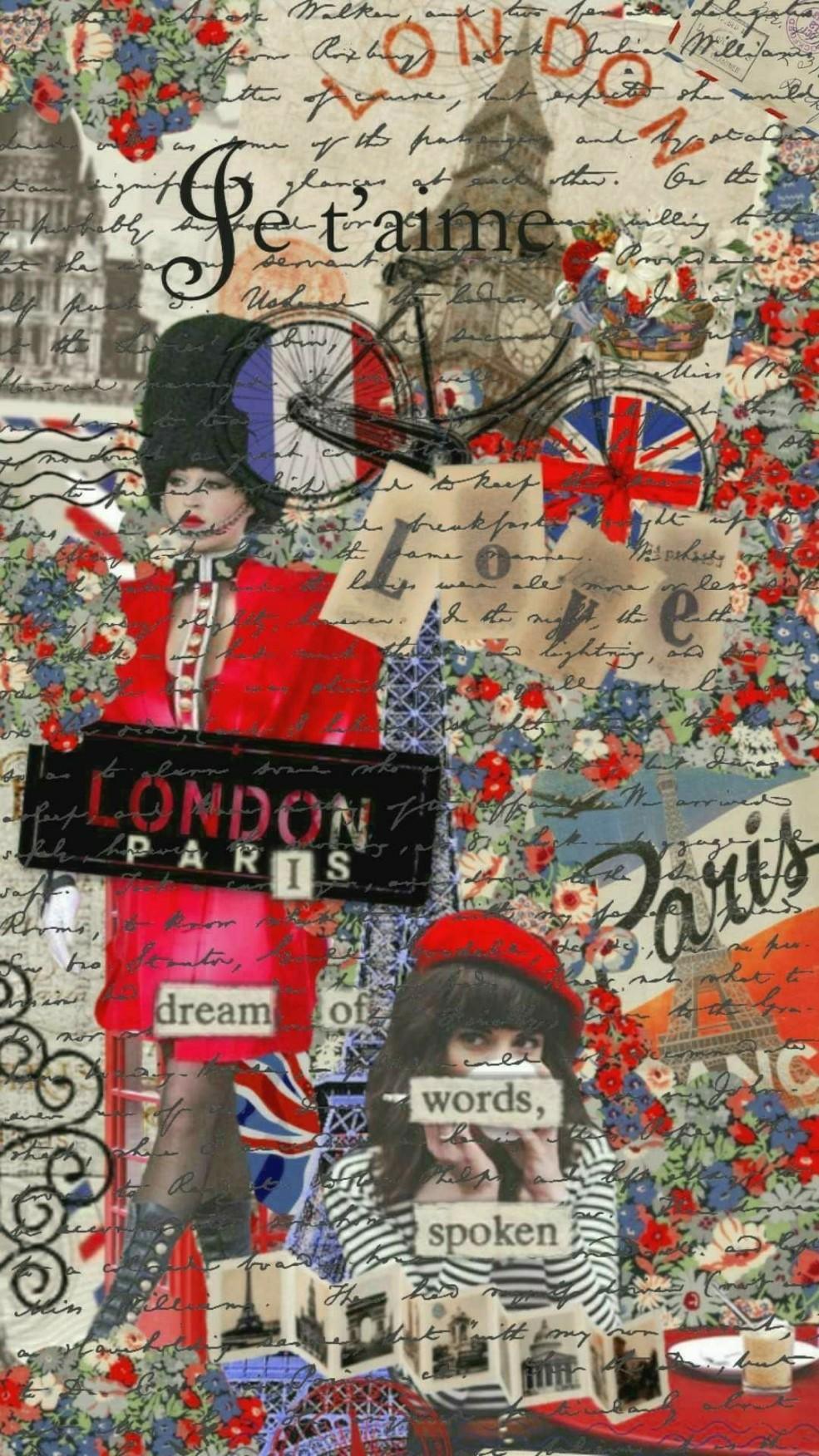 London to Paris mailing letters