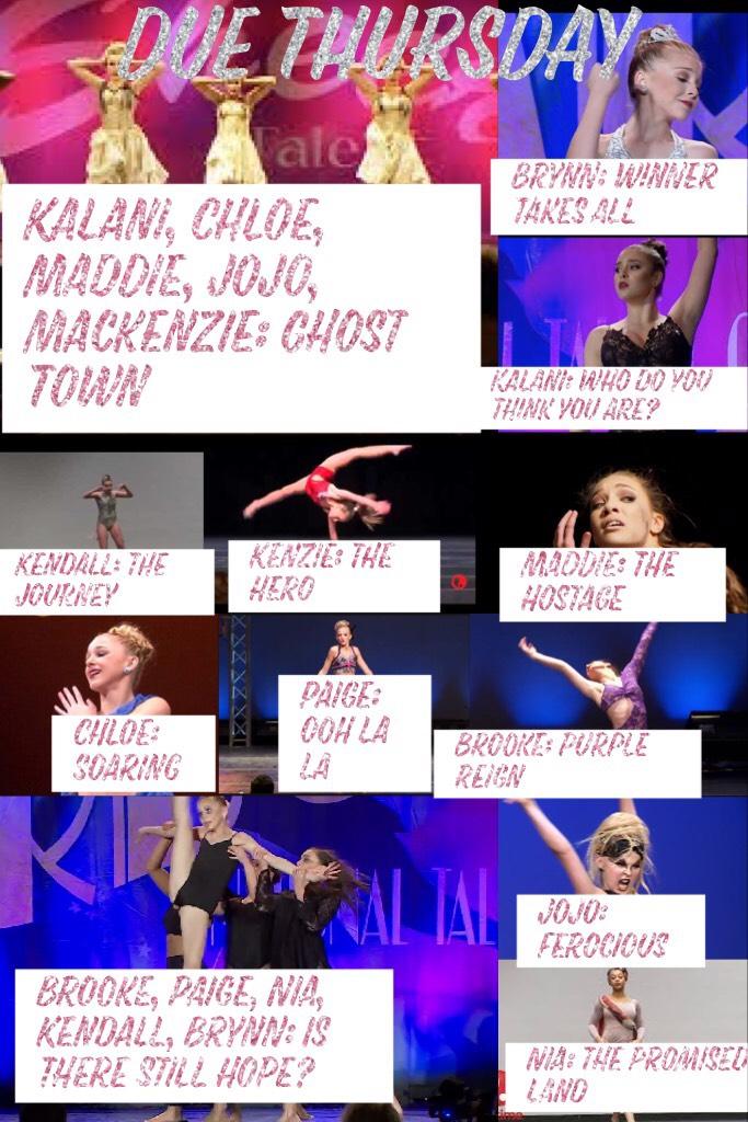 Kalani, Chloe, Maddie, JoJo, Mackenzie: Ghost Town