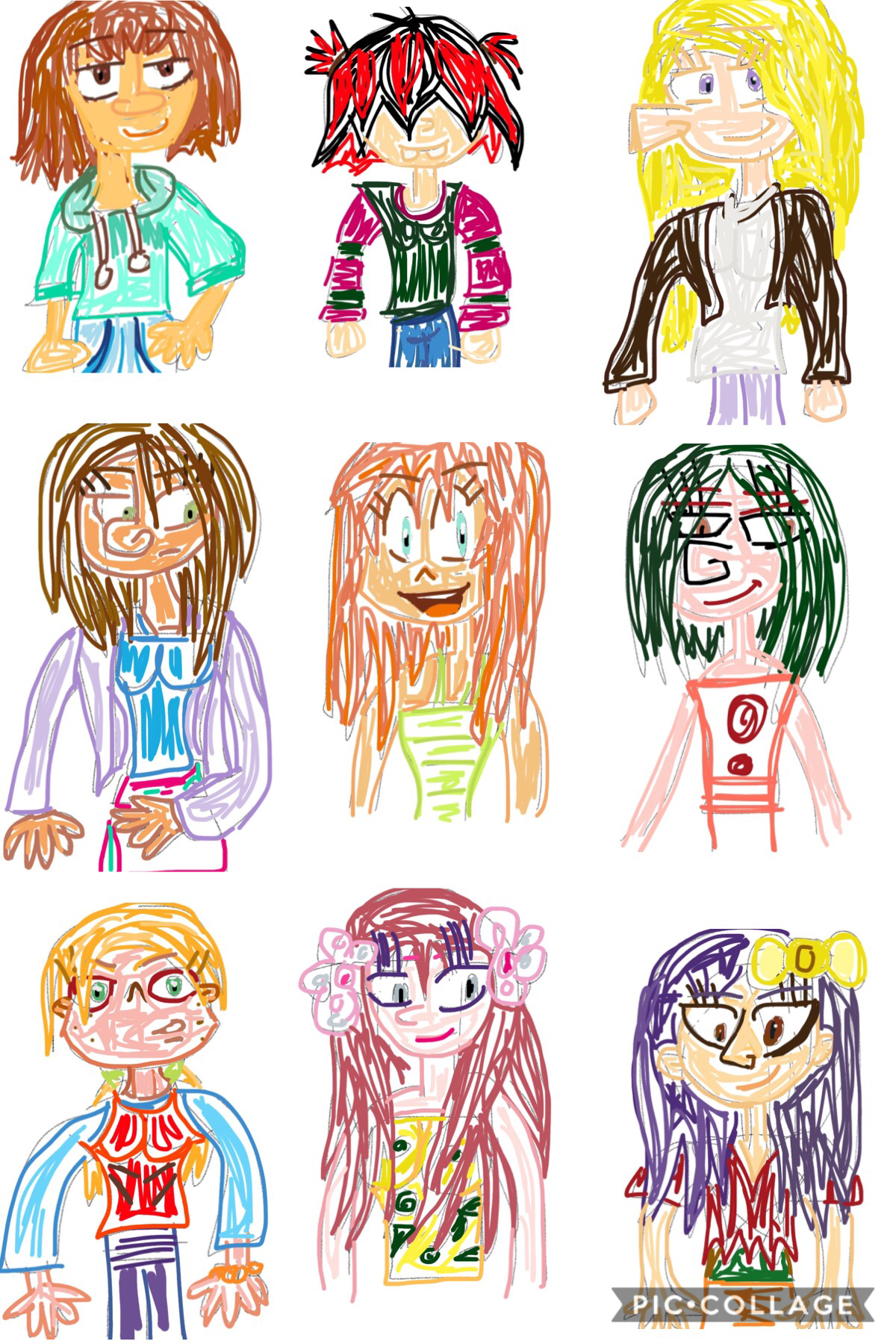 Sony's George of the jungle: the movie presents the first nine girls! Stef, Fella, Erin, Rina, Hester, Therese, Aggie, Magnolia and Ursula.