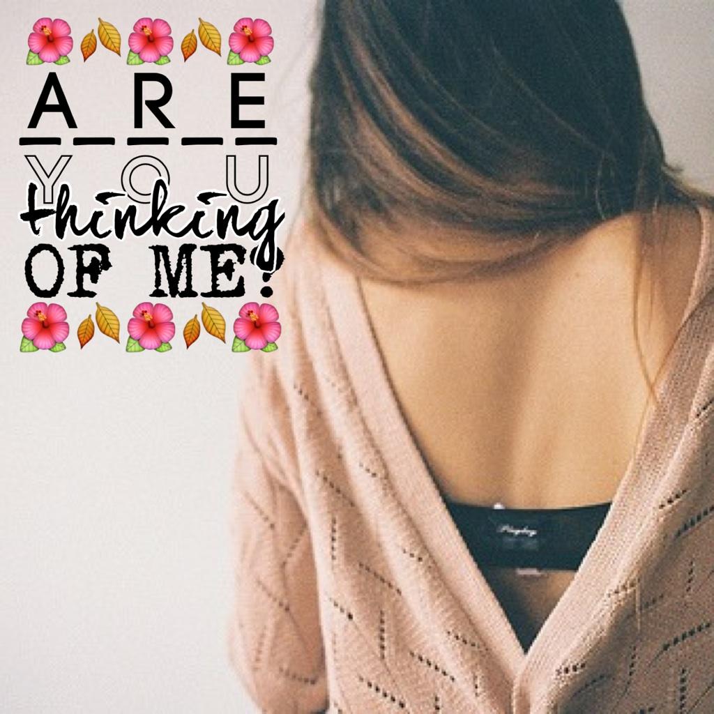 ... Because I am. :(