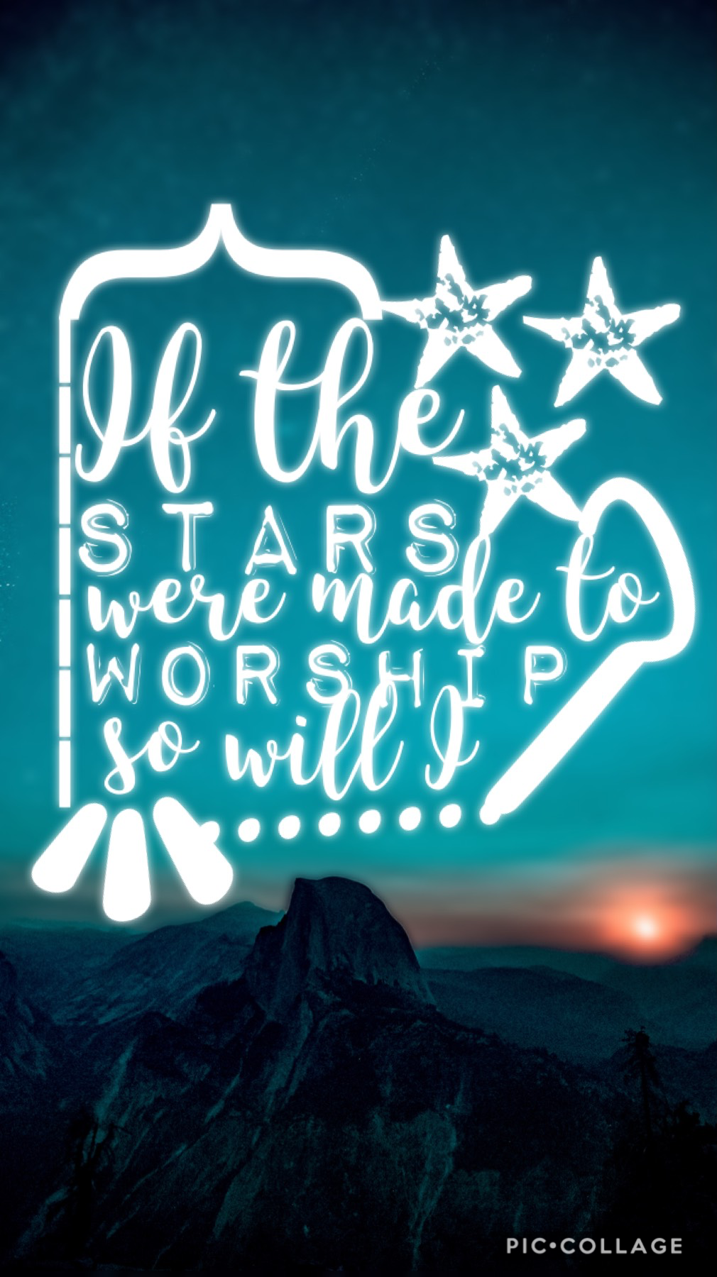 """✨TAP✨ This is another lyric from the  song """"So Will I"""" by Hillsong.   There so songs (including this one) are  incredibly amazing!!!! Pls go listen to one of their songs!!!!   Btw, my contest will be due in a few days  so if you haven't entered already pl"""