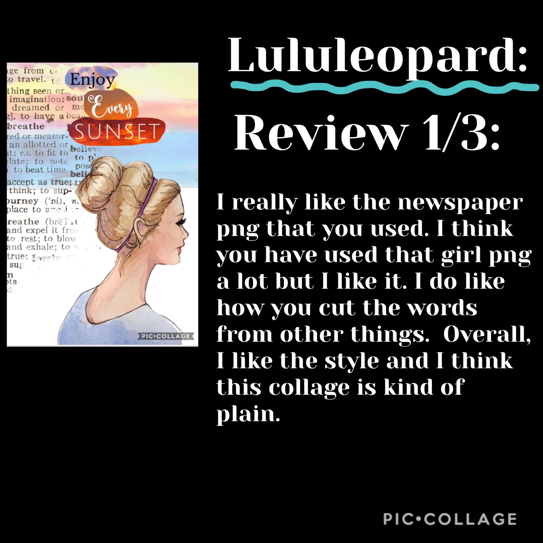 💖TAP💖 Thanks Lululeopard for requesting a review!  Rating: 7/10  Go follow her!!! 🐆⭐️🐆⭐️🐆⭐️