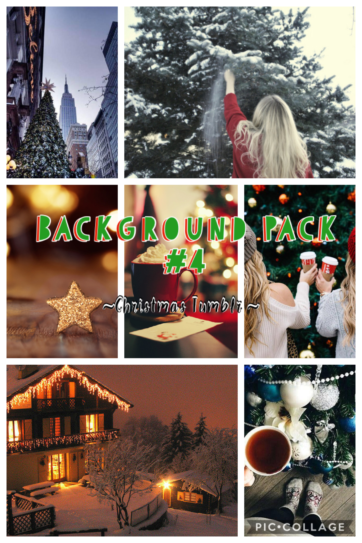 Enjoy this Christmas themed background pack!! Please use credit if you're gonna use them!🔔❄️🎄😆 11 days till Christmas y'all!! How exciting is that??!??🤩🤯 Christmas contest coming soon!