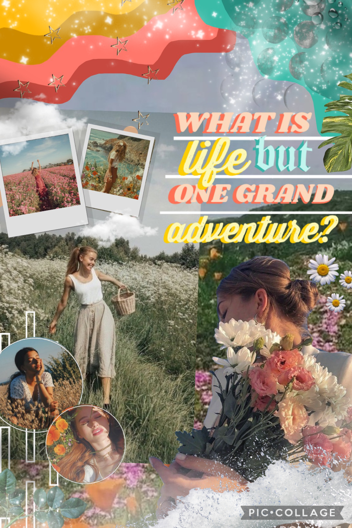 hiiii🌼I was bored so I made this lol, this collage is very much inspired by two of my favorites, @meandmeonly and @CrashingWaters 💕