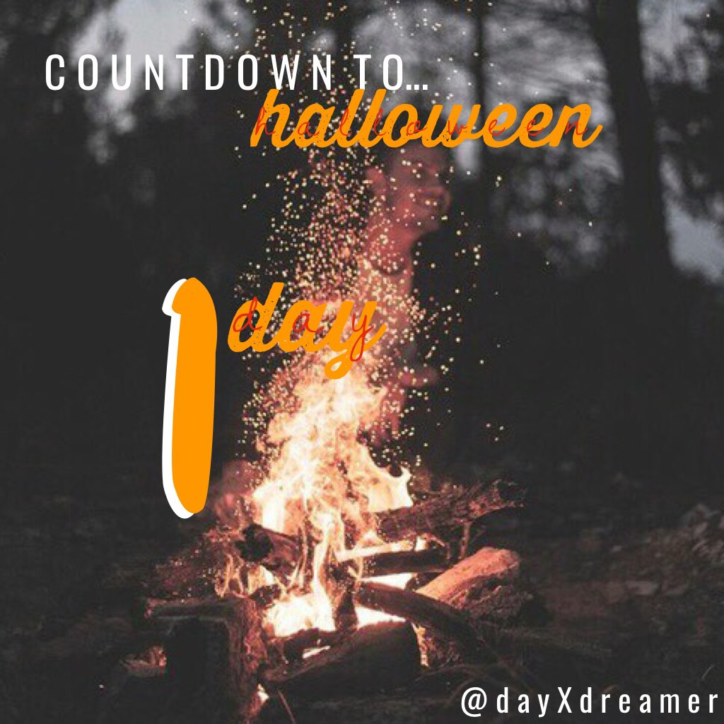 🎃TAP🎃 ☠️TOMORROW IS HALLOWEEN☠️ 🕷ARE YOU EXCITED?🕷 👻IM AM!!!👻 so i know i said i was staying home but i'm ending up going. i'm dressing up as a Pink Lady from Grease!!!! comment what you're dressing up as!!! and if you're excited!!!🕸🎃👻