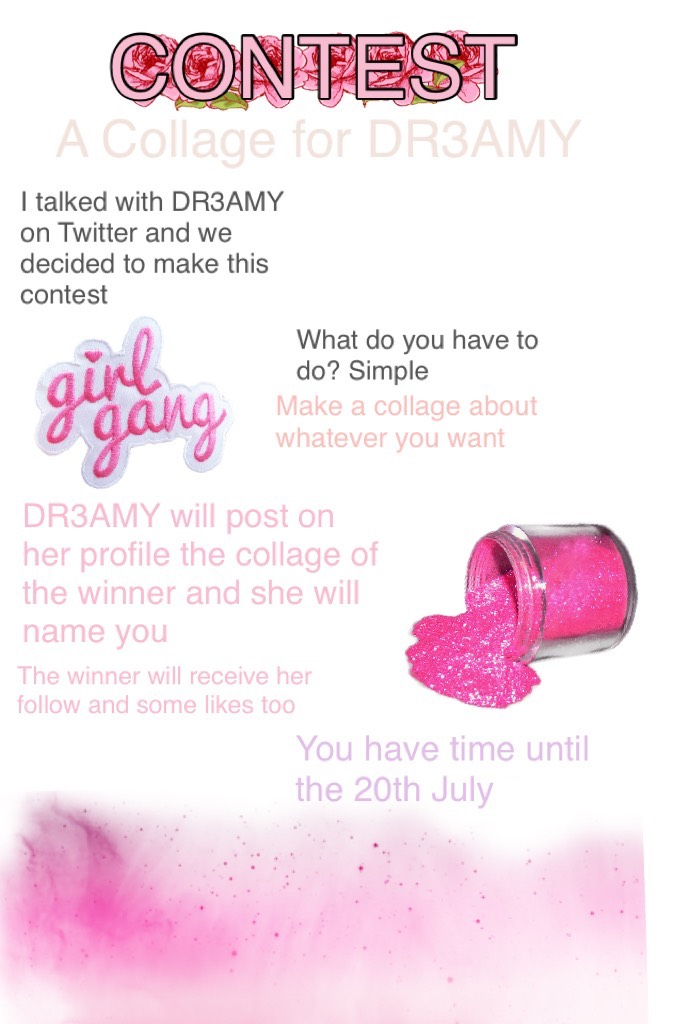 💕CONTEST💕 Tell me if you will take part of it