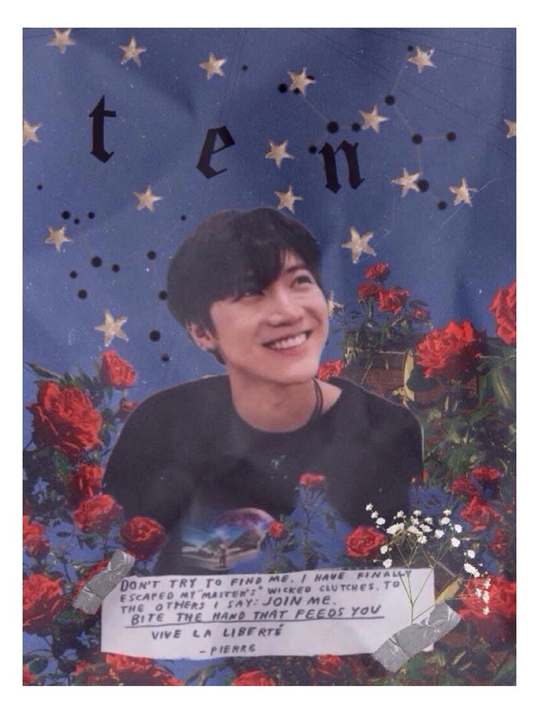 🌹Ten🌹 This is pretty old but i have nothing to post and im losing all sense of creativity :(