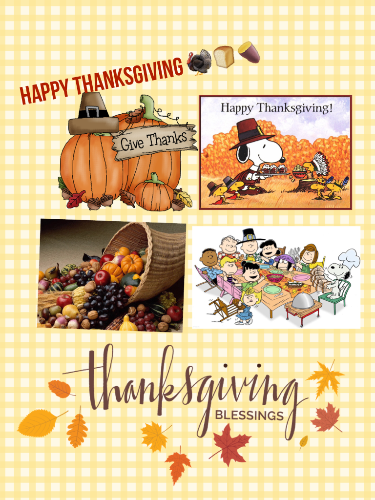 Happy thanksgiving 🦃🍞🍠