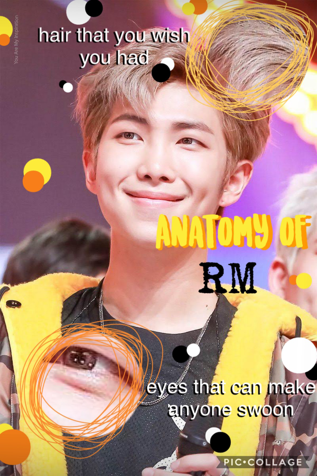 I had seen people do this and thought I could try it out....What do y'all think? I added some humor lmaoooo, forgive meh :p 💜💜 Jhope y'all be doin well, ly!