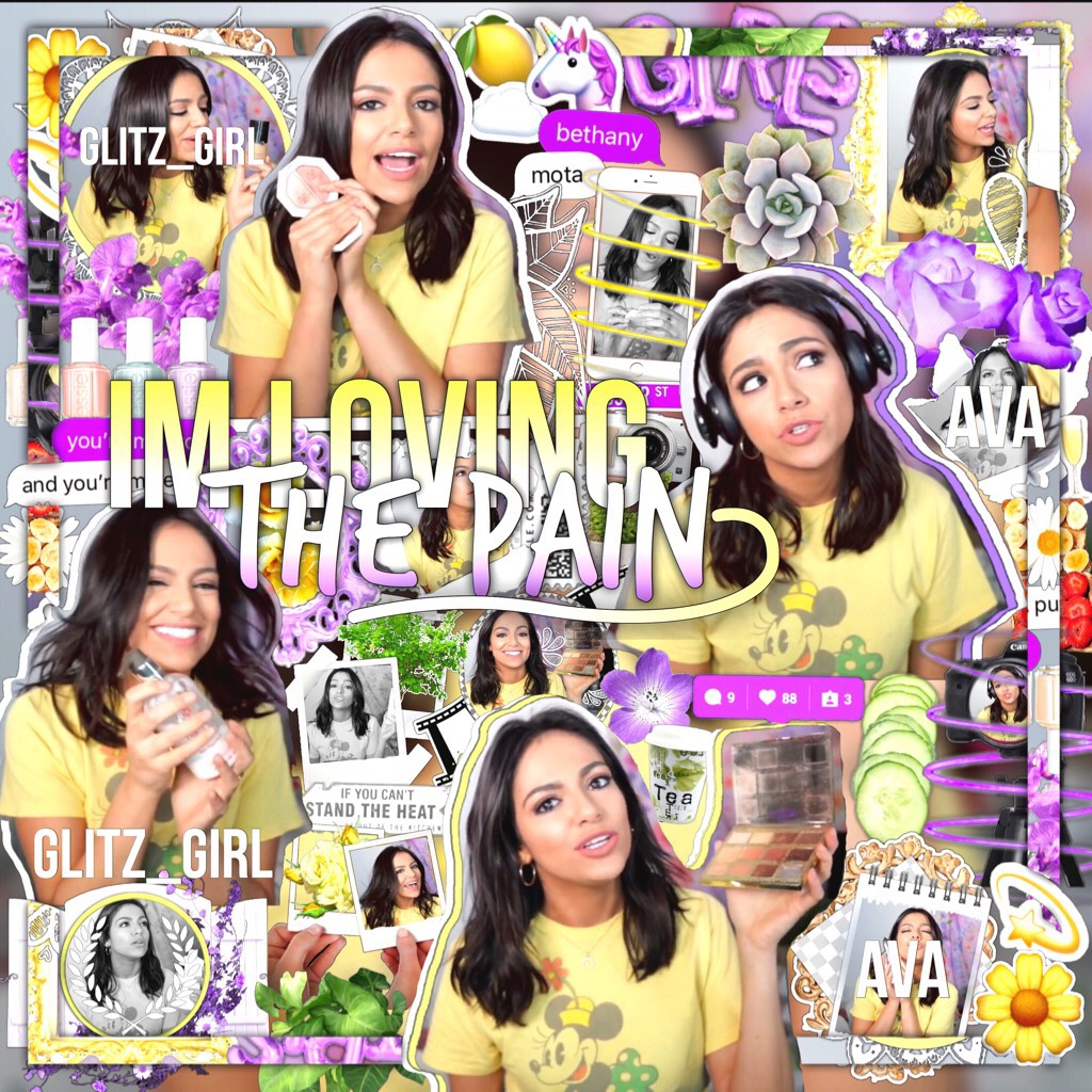 🌼tap🌼 •I absolutely love this💜 it's been so long since I've done a Beth edit sorry I haven't posted that much I will try to be a little more active☺️💛• -Rate- <qotd:yellow or purple> >aotd: probably yellow but sometimes purple😂<