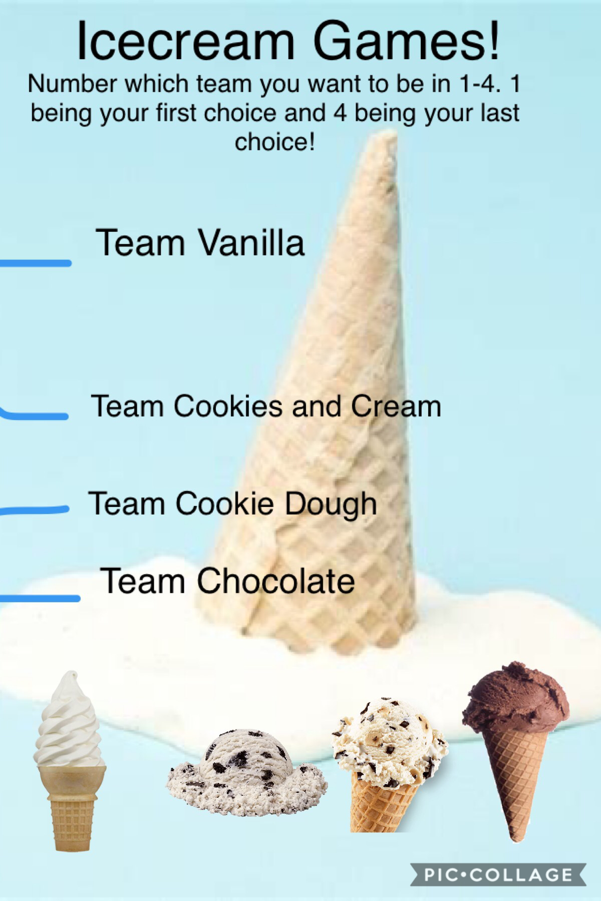 Join the icecream games!