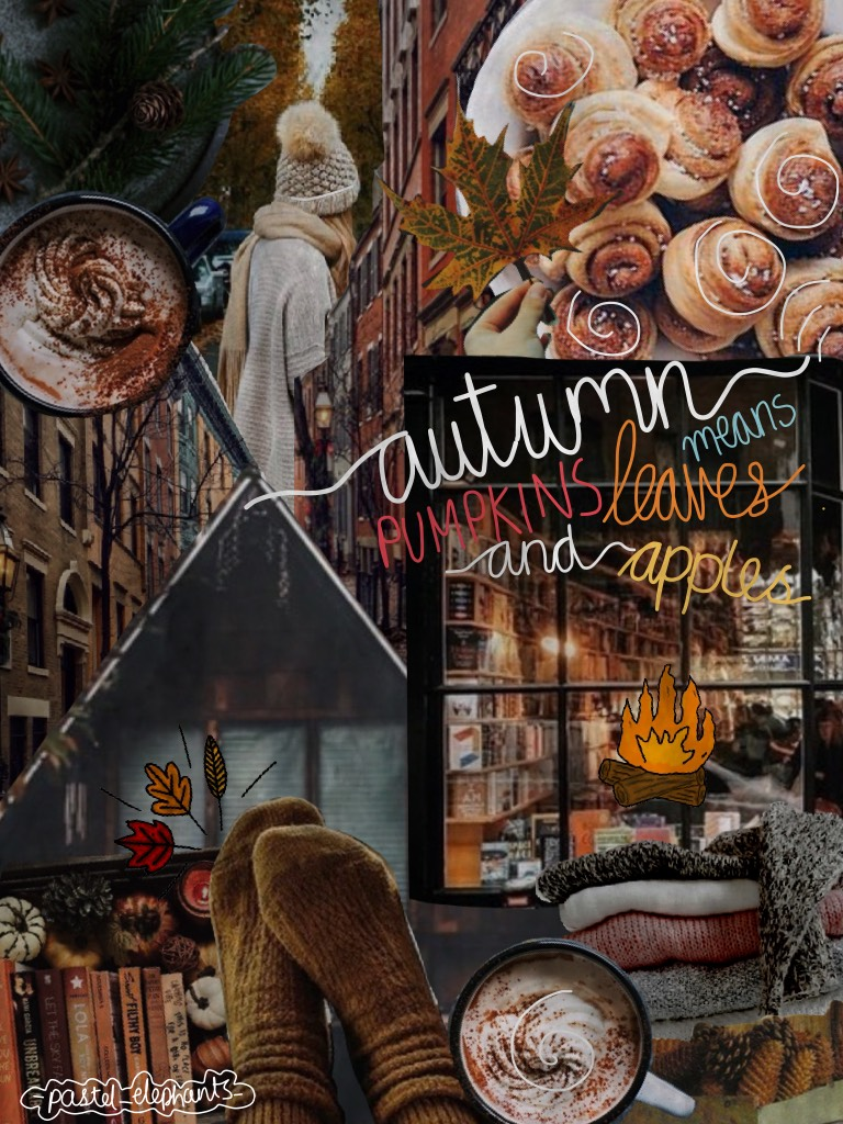 Yet again another autumn themed collage!! I didn't know what to do for text so I did it in my own hand writing for a change🍂🍁Happy Birthday to @dod-ie, have a wonderful day!!🎉✨Tell me in the comments if you're getting bored of the autumn theme☺️