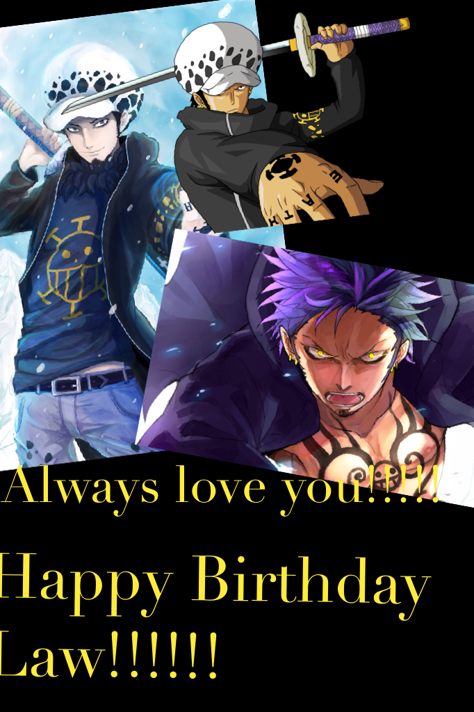 Happy Birthday Law!!!!!!