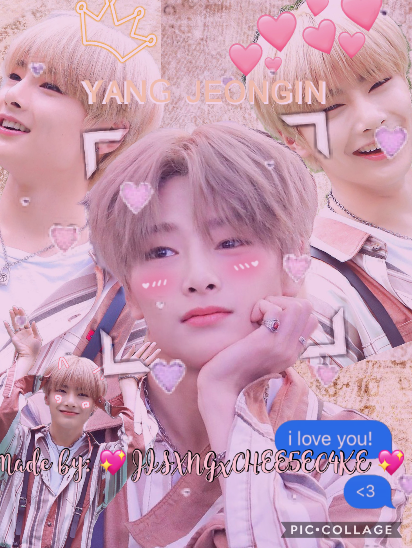 Onion!!! It's JISXUNGxCHEE5EC4KE! I just joined the acc :) I'll try to post on here! On my personal acc I have a BTS ff and maybe in the future I'll do a Stray Kids one :))) okie baiiii
