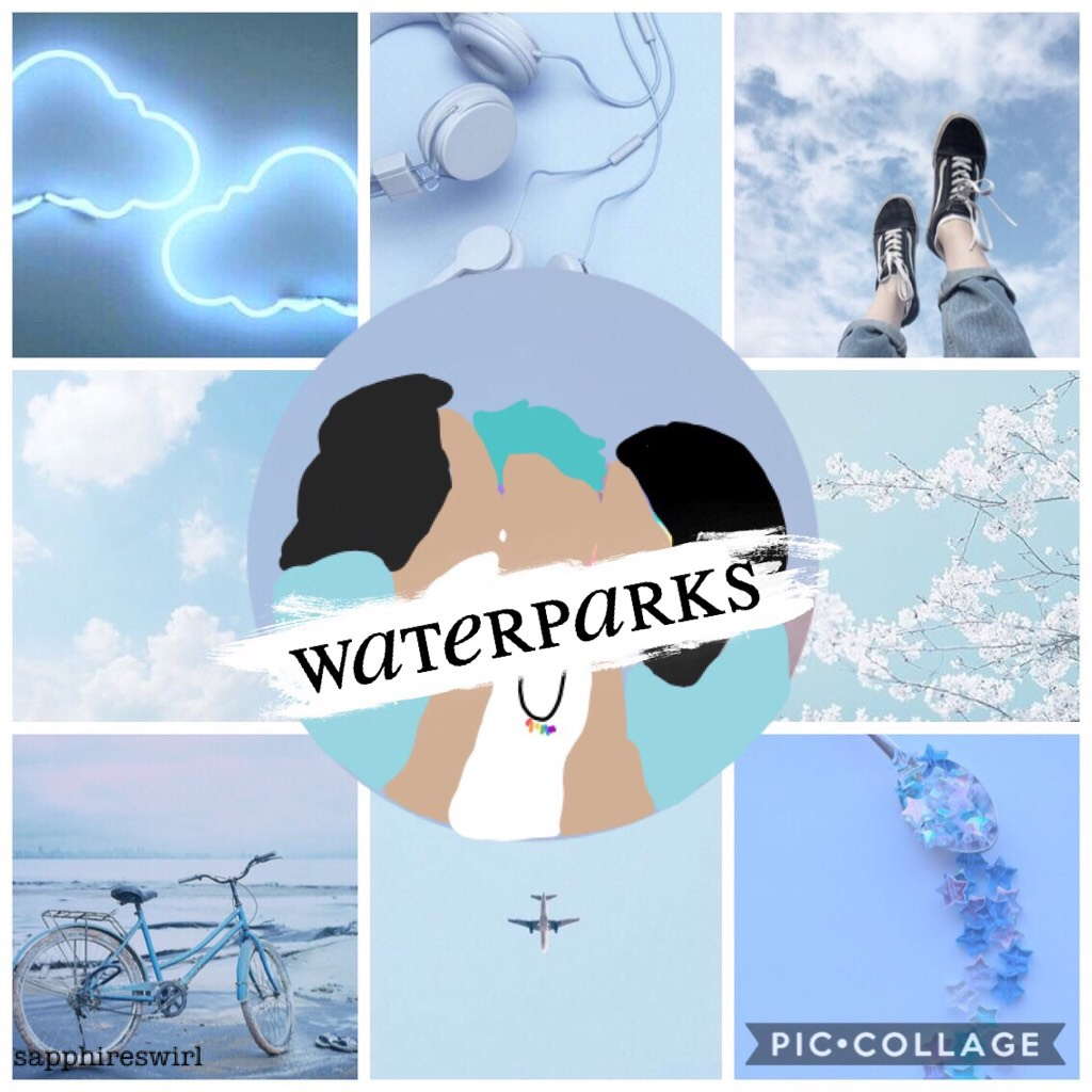 i attempted to recreate one of @love-readaholic511's edits and it didn't work very well haha. here's a poorly done waterparks edit for y'all
