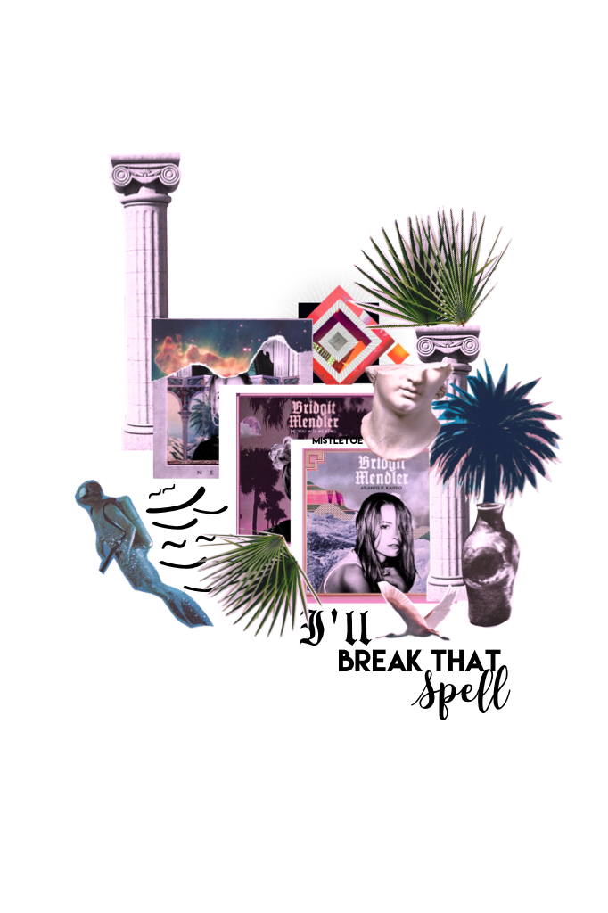 🌿Tappity Tappity🌿 I decided to make a collage using only  stickers from the Bridget Mendler sticker pack