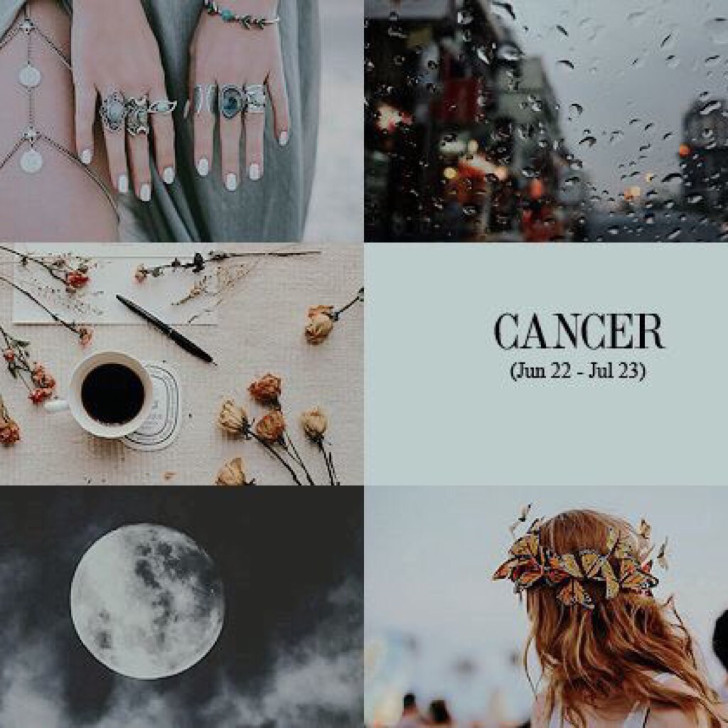 >click< 05|08|2017 #cancer aesthetic I've kinda been a bit obsessed with zodiacs lately qotd: what's your zodiac? aotd: cancer obv  xx