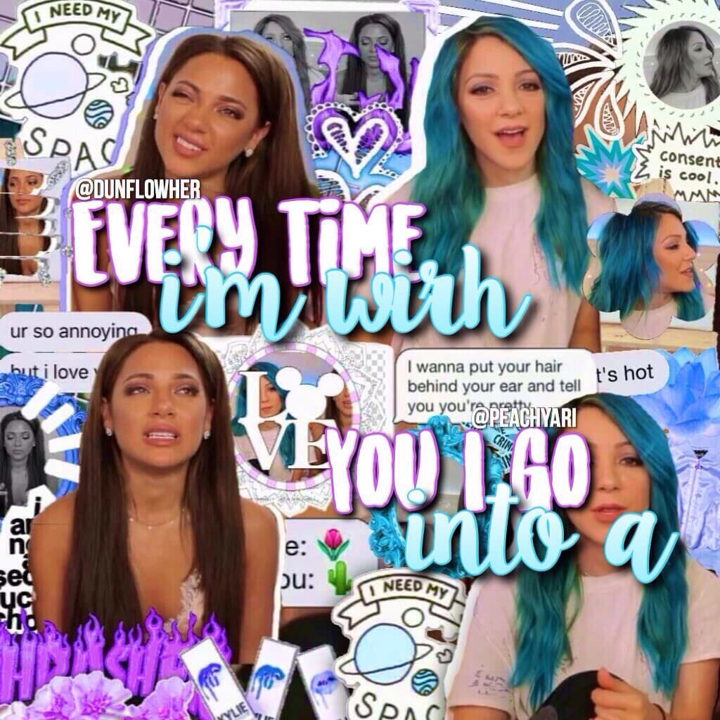 COLLAB WITH LEAHHH 💓 yall im not ready for school on tues i hate my schedule and most of my teachers i don't want the stress a g h