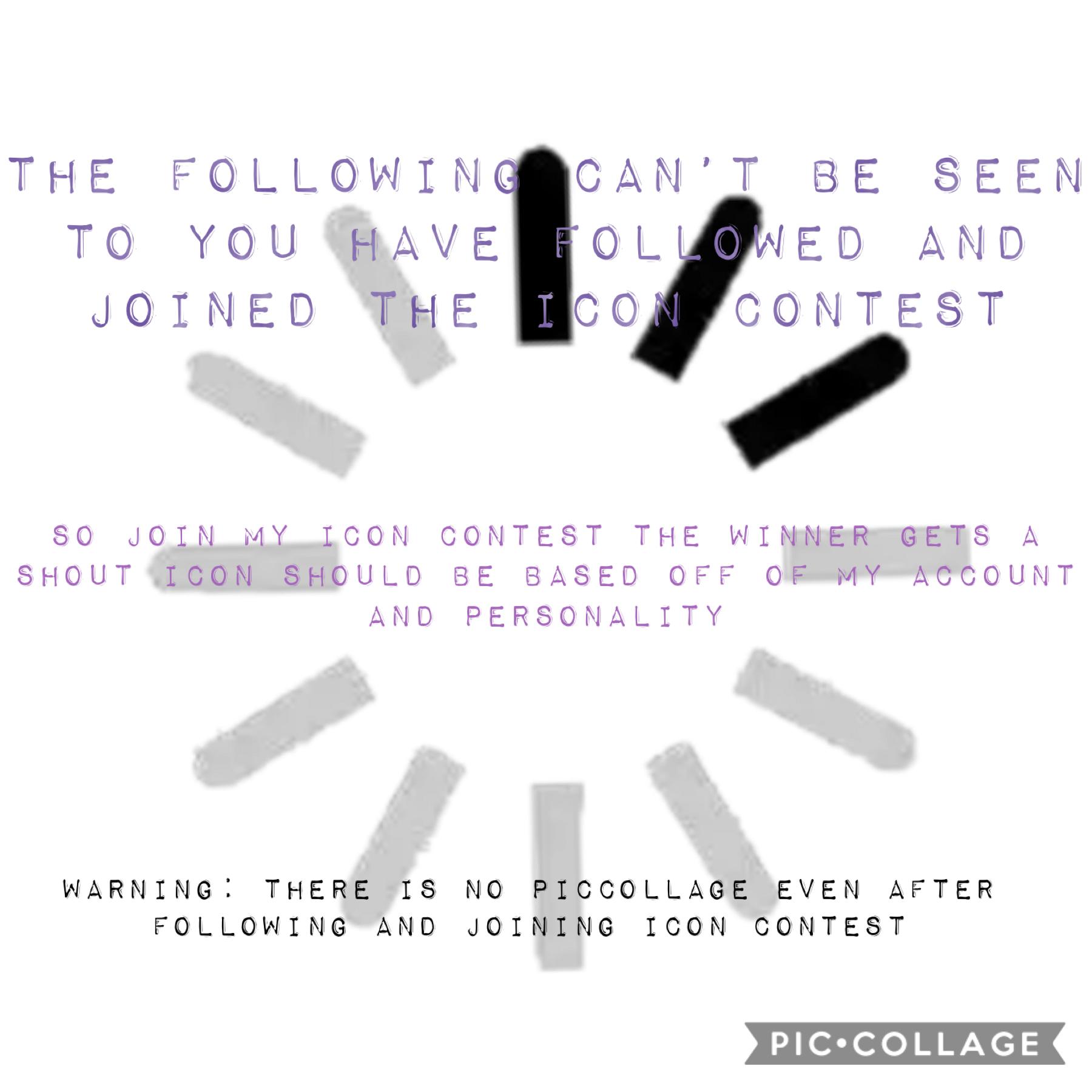 Icon contest