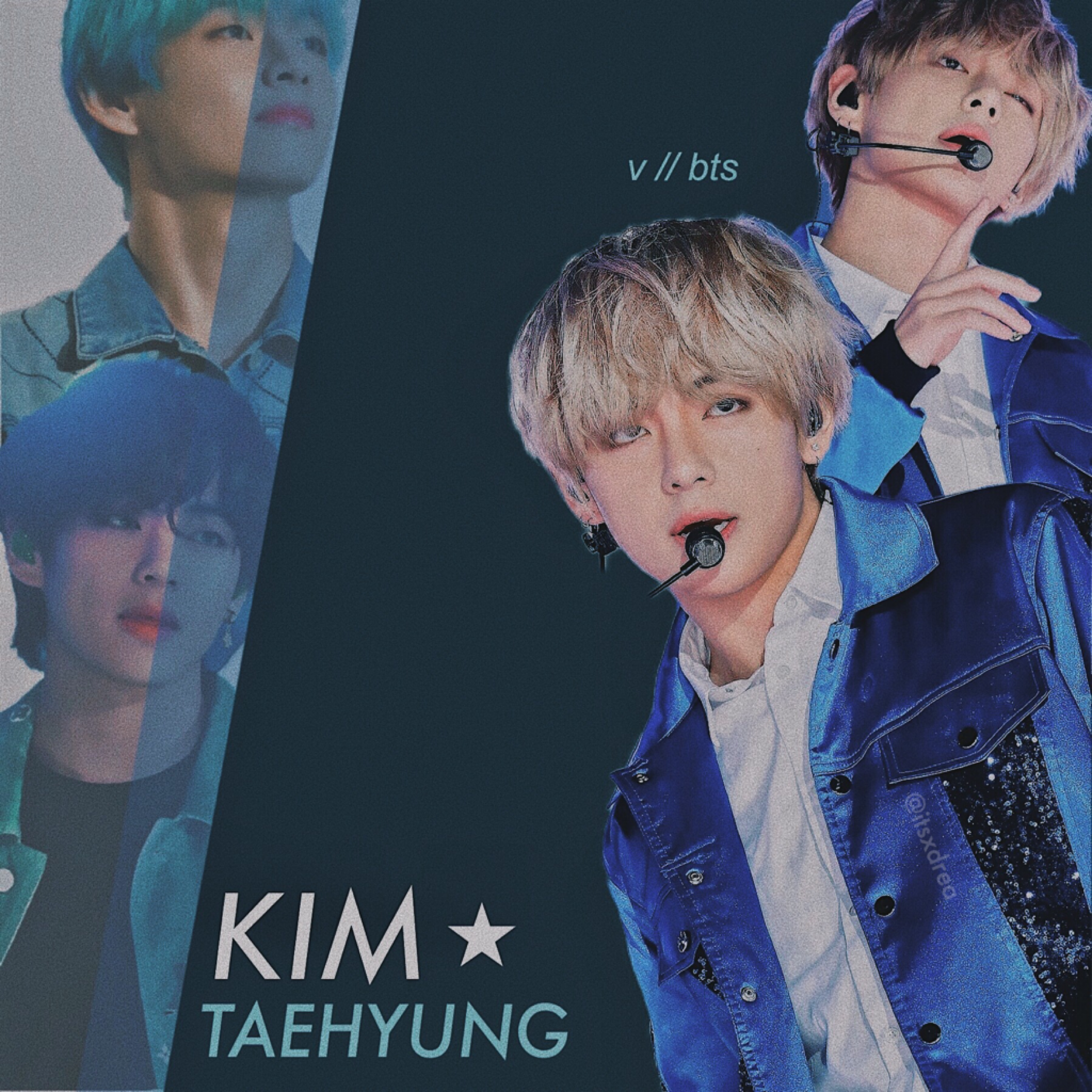 🌌 • kim taehyung // bts • > edit request for @bubbletae- < i hope you like !! i remixed my monthly playlist if anyone wants to bop to the same songs i'm listening to atm lmaoo