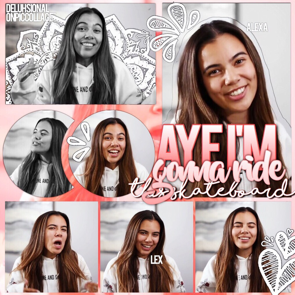 hey😽 I'm alexaaa 🏹 ((tap)) I'm new to pc and I really hope you like this collage !! 💌 also I will only post addy on this account because I l.o.v.e her 😍 also this song slays 🌹even if it's by jacob sartorius ☕️