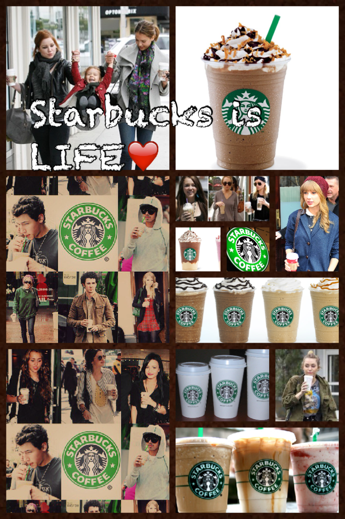 Only been to Starbucks once and I loved it!! It's better than regular coffee for sure!! Starbucks is LIFE❤️ have a great day and night lovelies!💗💕