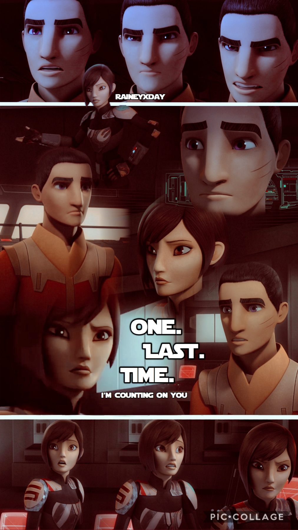 new BLEND edit (tap)  Info: Ezra & Sabine from Star Wars Rebels   Check me out on PicsArt!  @dancingintheraine for complex edits  &  @raineyxday for outline and blend edits   —————————————————————————
