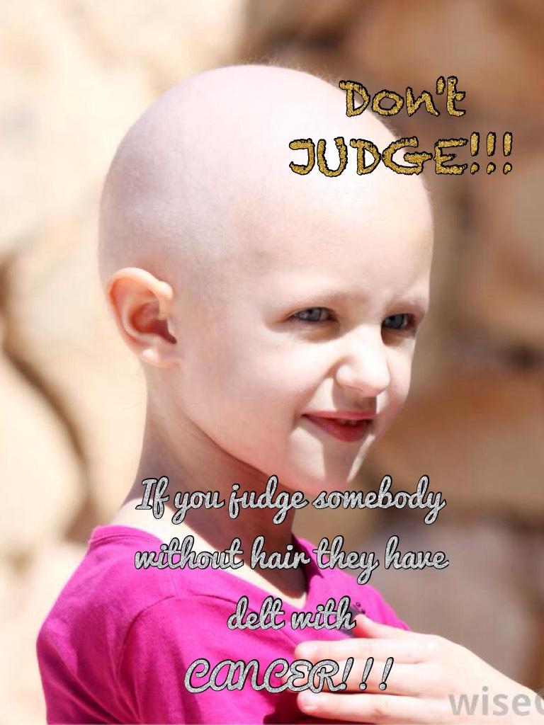 Don't JUDGE!!!