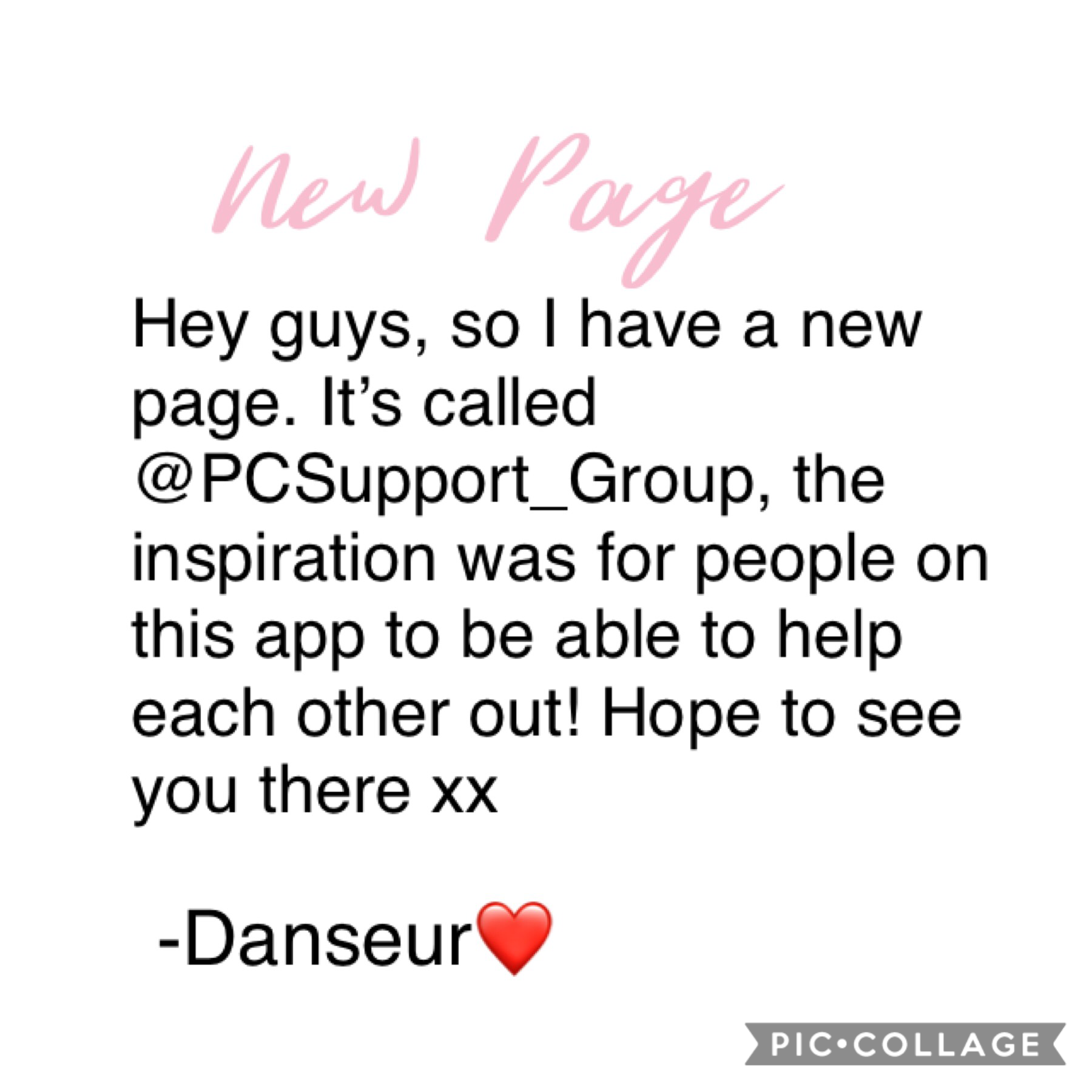 Tap Please check it out guys! And stay strong ❤️