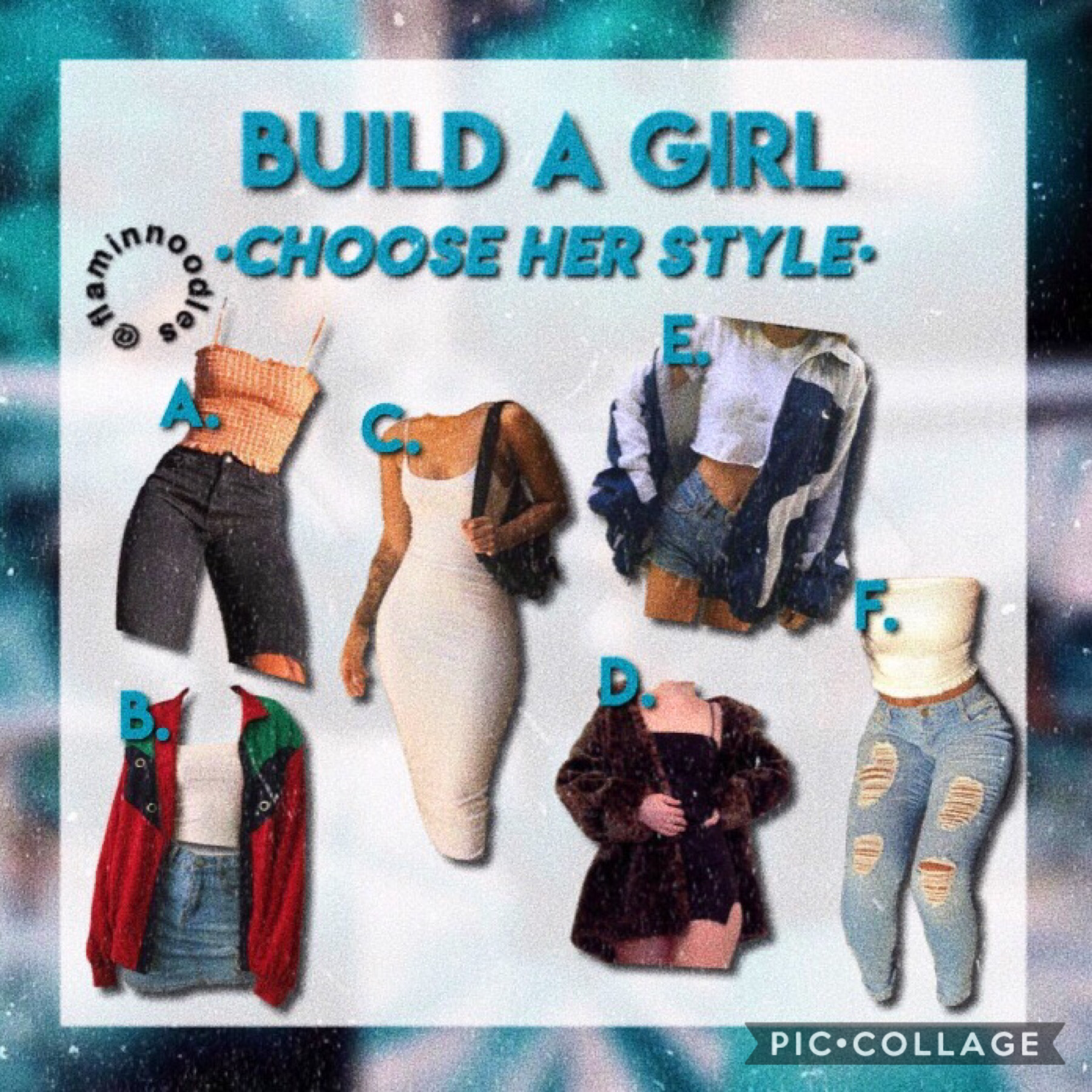 ✨ Tap ✨ Hey this is part 2 of Build A Girl I did part 1 a while ago! I know I'm posting later than I usually do but hey it's still Tuesday tho 😂 also I just got finished watching BrightBurn it was good! Qotd: which outfit would u choose?