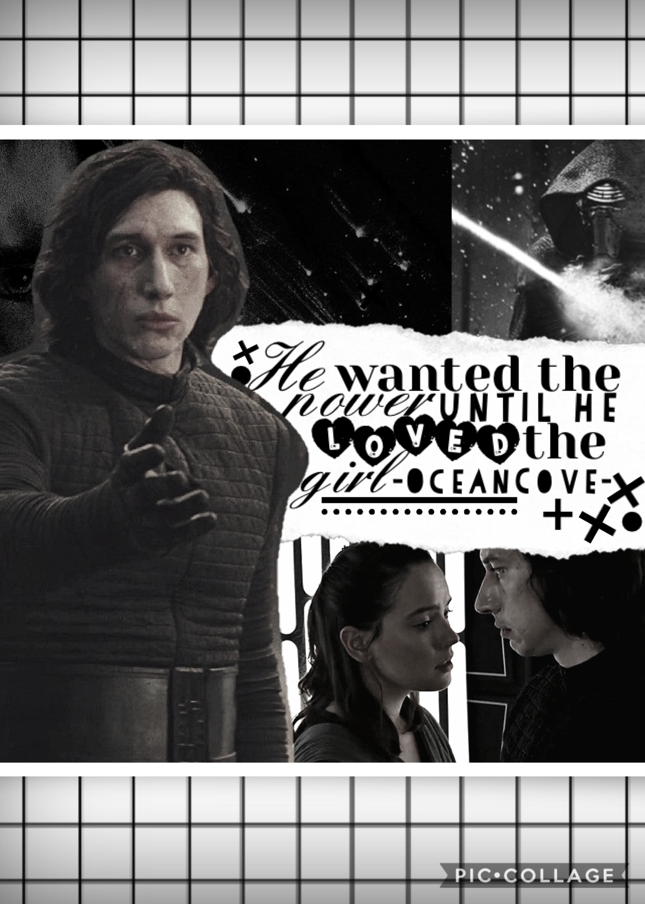 Tap  Thought I'd post this reylo collage to celebrate the release of rise of skywalker in cinemas I'm currently on my way to see it so excited 😆! Hope you like