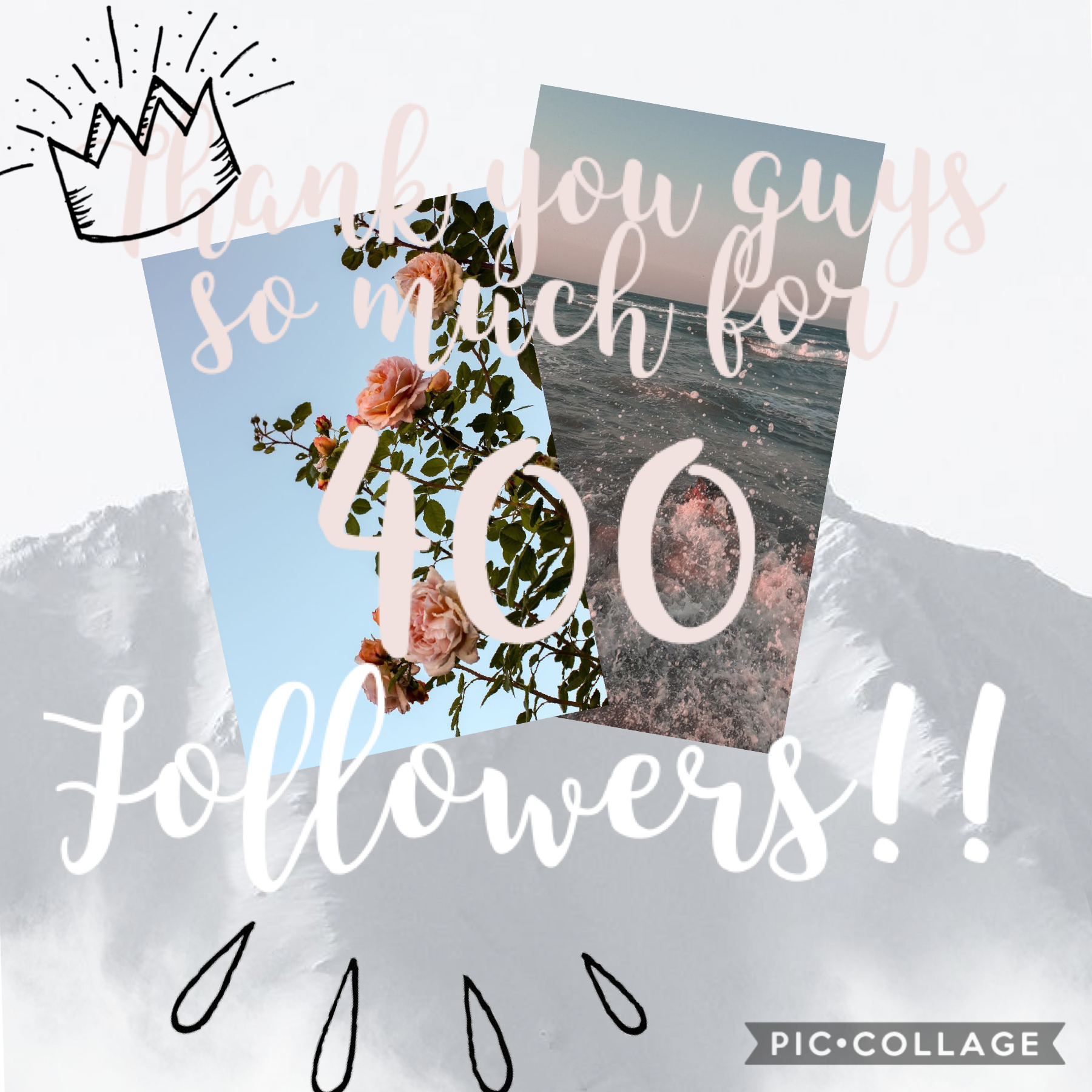 Tsym guys for 400 followers!! I couldn't of done it without you!! (Obviously) lol thank you!! ❤️ ❤️