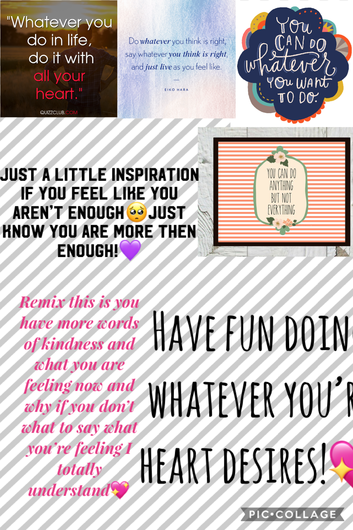 Please read everything in this collage and if you want please do the this on it it will be totally worth it!💖💖💖
