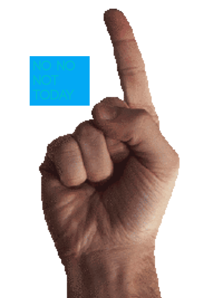 Грозящий палец гифка