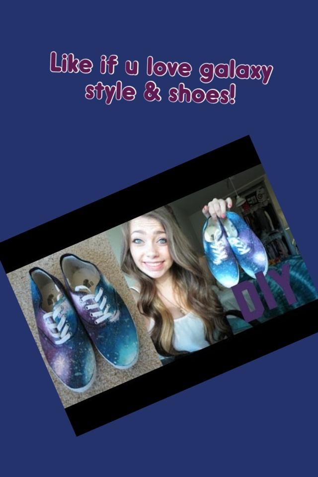 DIY- Galaxy Shoes!