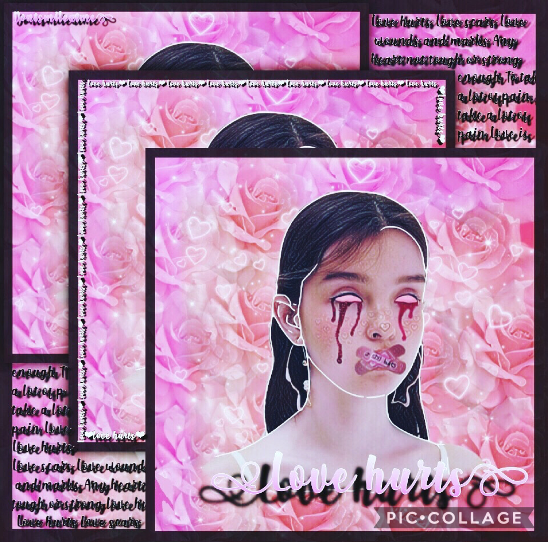 🌸💖tap💖🌸 ❤️Rate /10❤️ Lyrics🌺-love hurts-🌺 Don't like this one but had to post something! I promise I will get better at posting😂please comment requests or remix a picture of a person you want me to edit:)! I'm running out of ideas:/⬇️⬇️⬇️