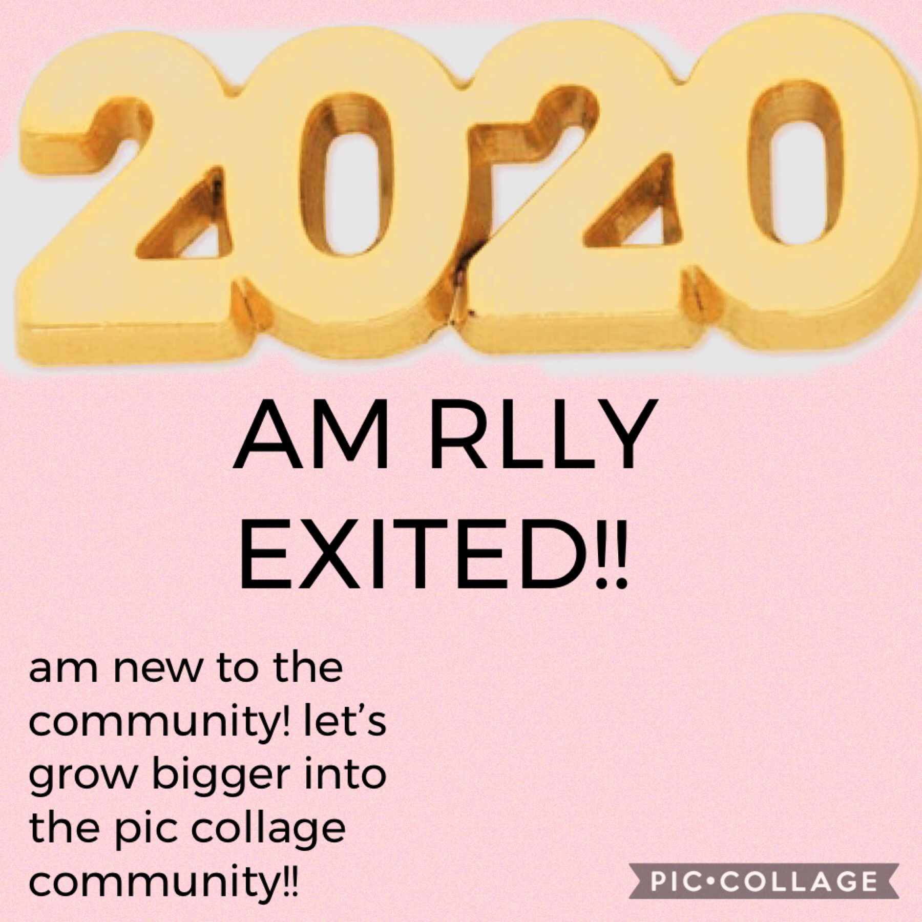 am rlly exited for 2020!!! am new so go head and follow me!!!
