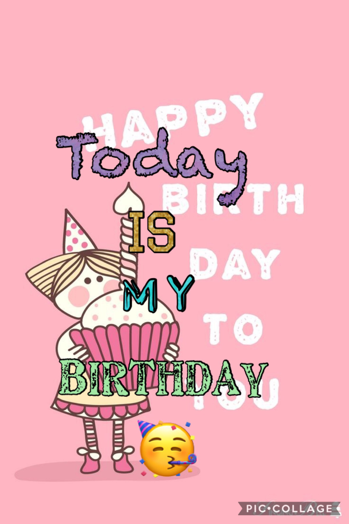 Today Is my birthday🥳🎉🎂🧁🎈