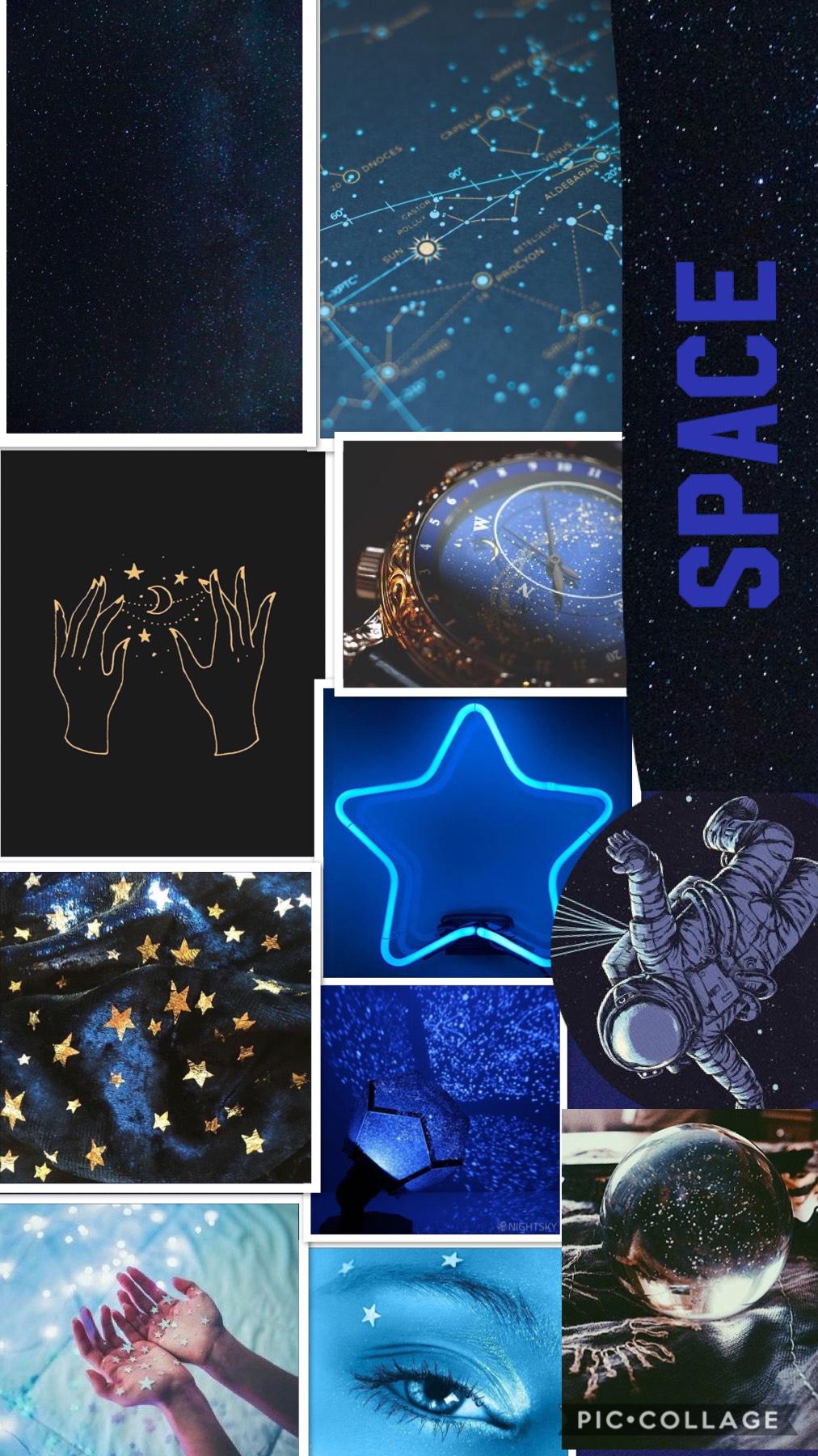 Star blue wallpaper