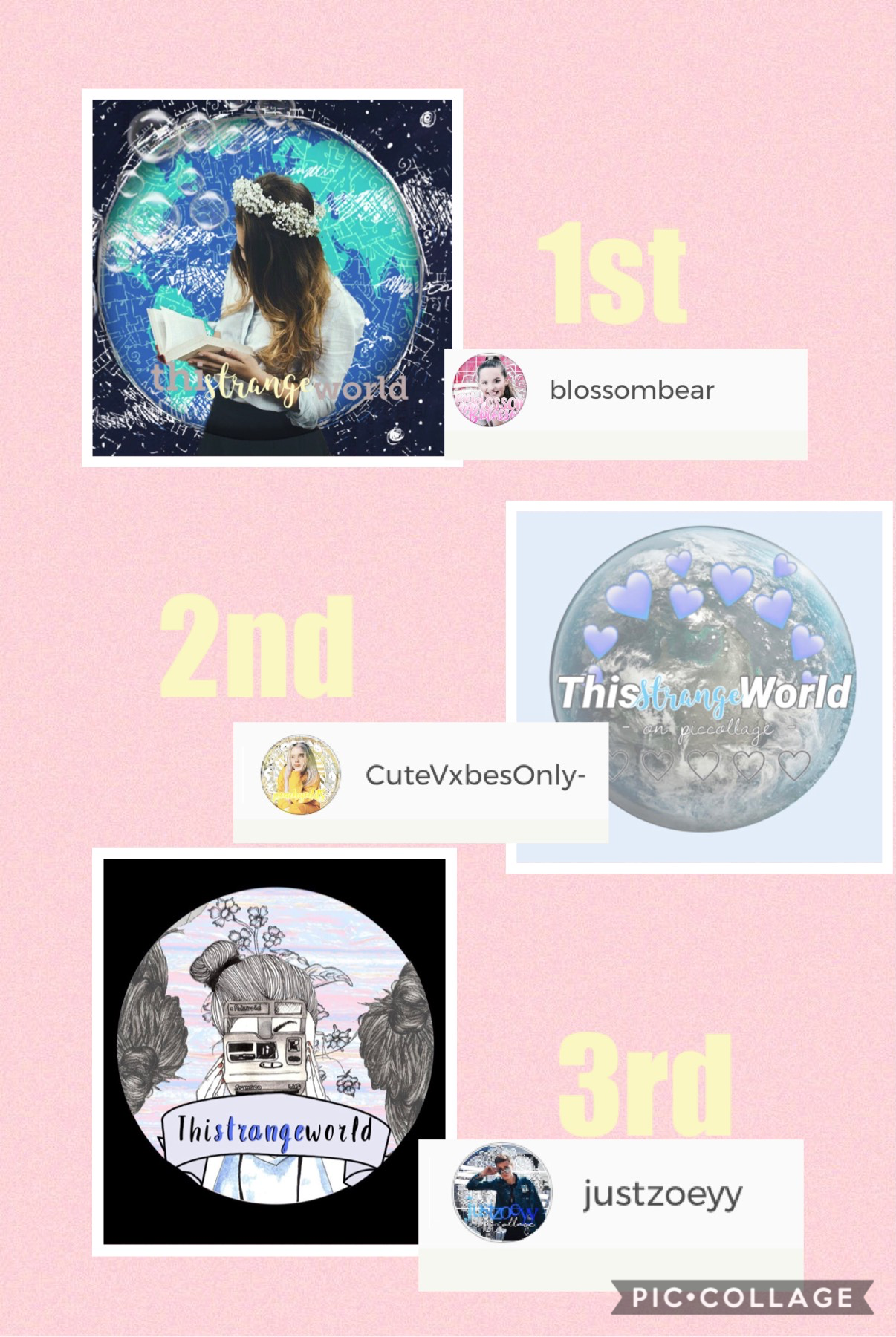 congratulations!! tell me your prizes in the comments!