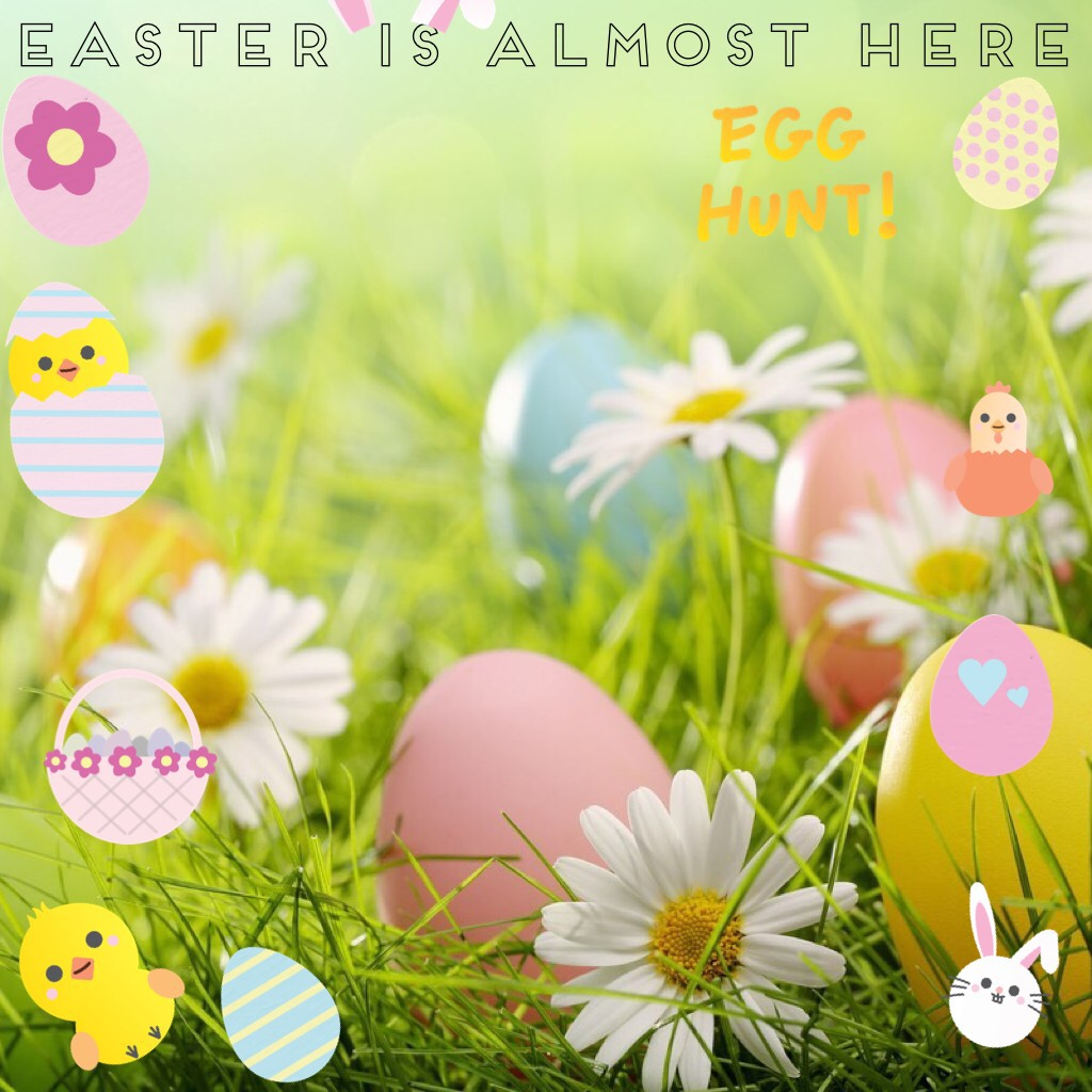 Easter is almost here