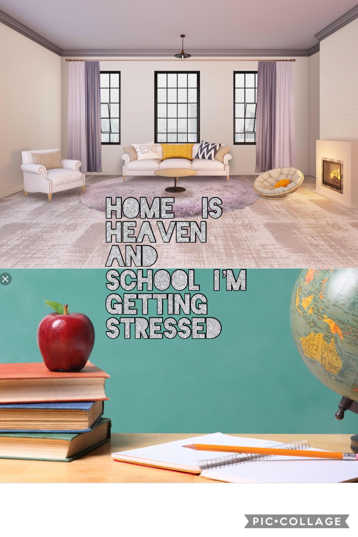 Home vs school